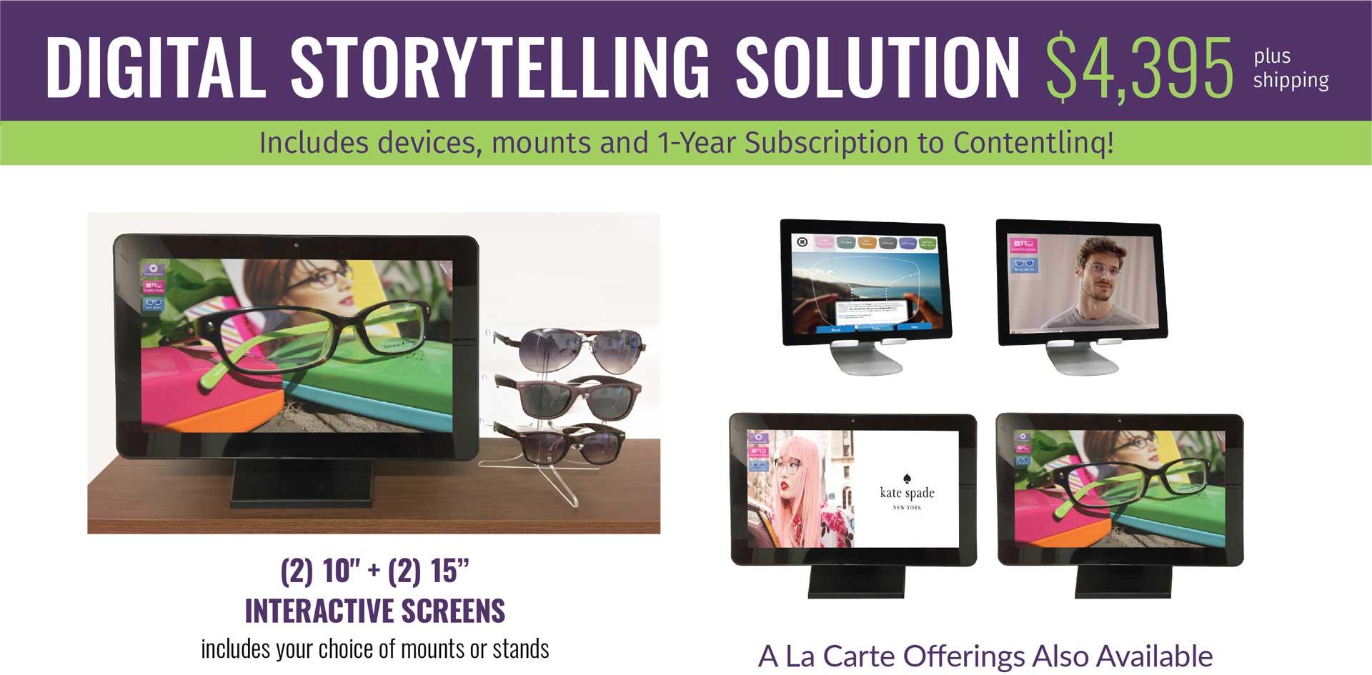 Digital Storytelling Solution